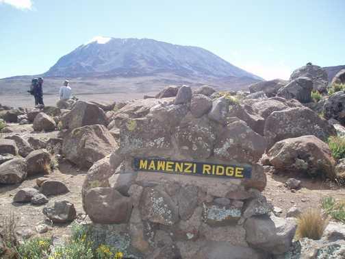 Views of Kilimanjaro from Mawenzi Ridge