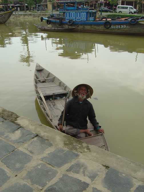 Old Man in Hoi An