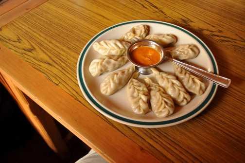 Dumplings for dinner