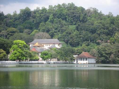 Sacred Tooth Temple in Kandy