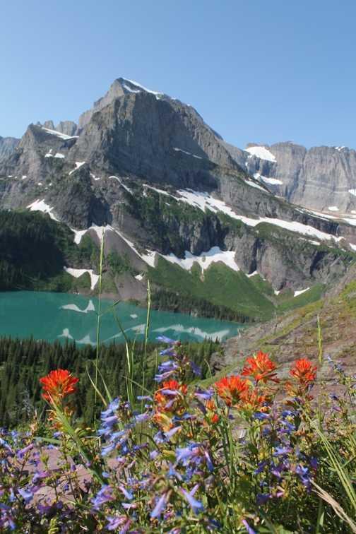 Sunrift Gorge trail, Glacier NP