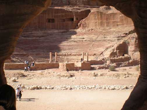 Roman Theatre Petra