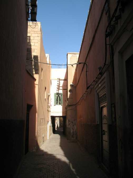 Marrakech alleyway