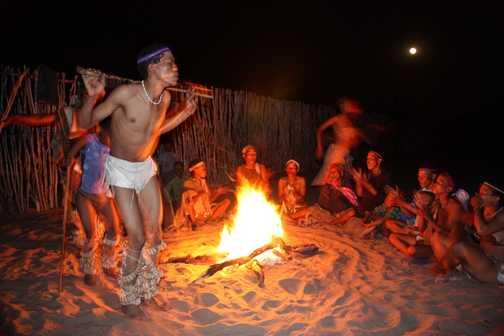 Khoisan trance dance - Kalahari