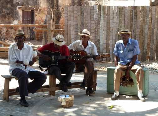 Musicians in Trinidad