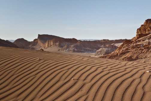 Wind Patterns in the Sand, Valley of the Moon