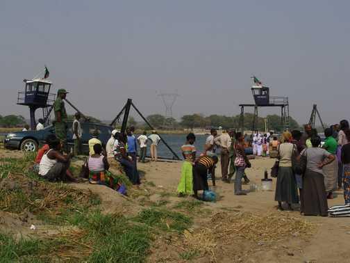 Border Crossing from Zambia to Botswana