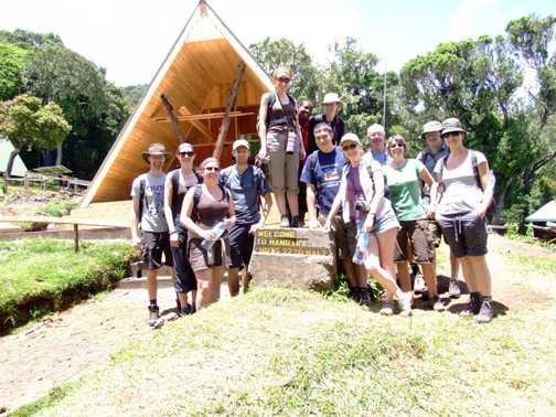 Kili base camp