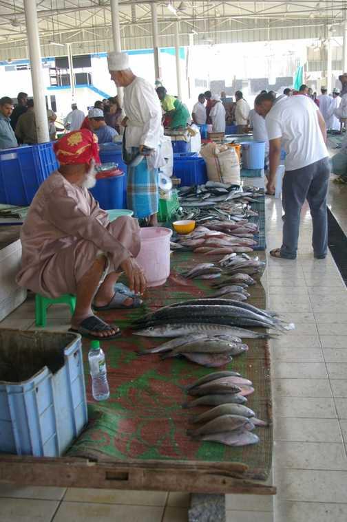 Fish market, Mutrah