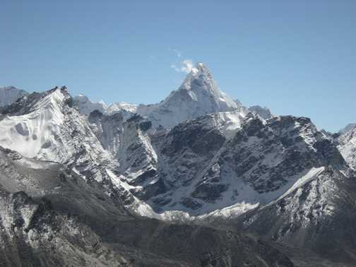 Everest & Nuptse from Kala Pattar