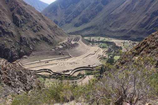 Inca Trail - Patallacta