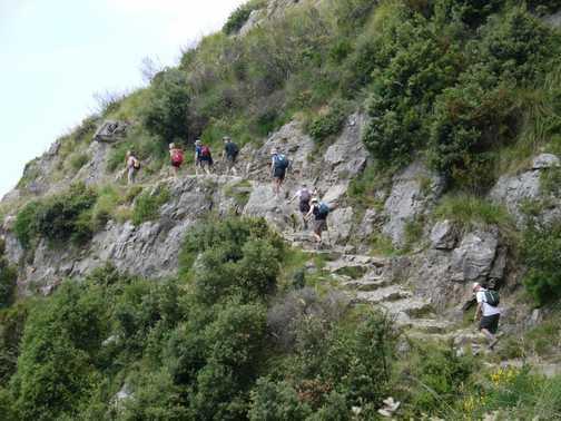 Walking along the Sentieri degli Dei