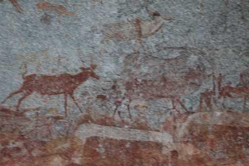 Rock Paintings, Matobo, Zimbabwe