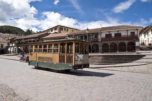 Tram in Cusco