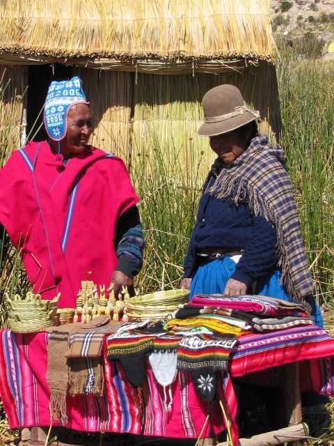 Lake Titicaca - Bolivian floating Island - Isla Chisawa