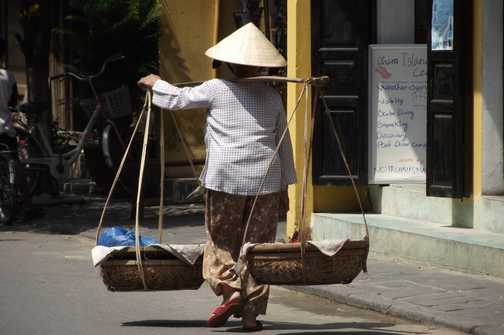 Working in Hoi An