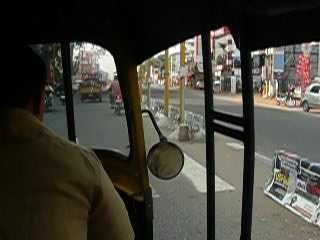 Rikshaw ride