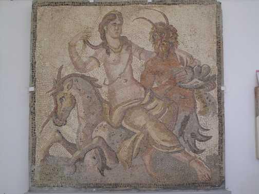 Mosaics Cyrene museum
