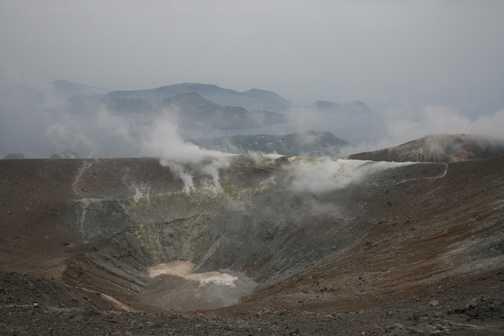 Sulphurous gases on Vulcano