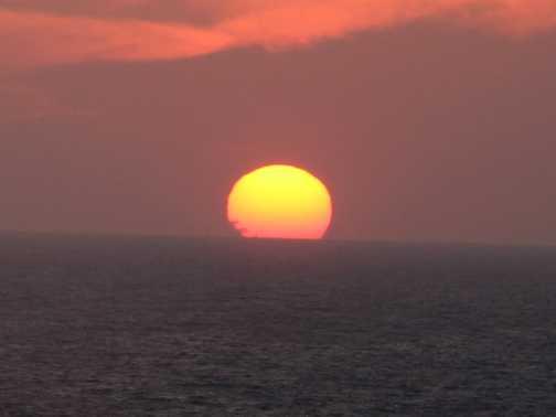sunset at kas