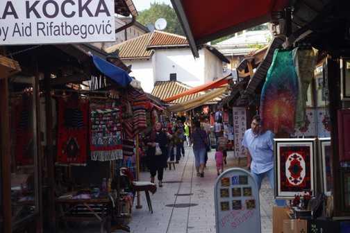 Street stall - Sarajevo