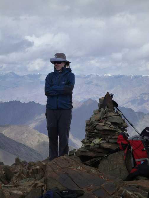 Summit of Palam Peak