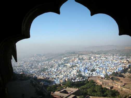 The Blue city of Jodphur