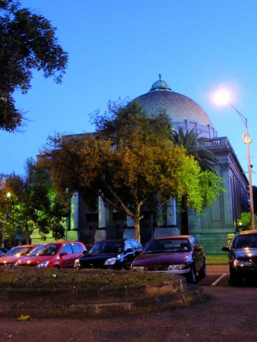 Jewish synagogue in Melb, snapped it at 7.00am in the morn on the way to work whilst waiting for the