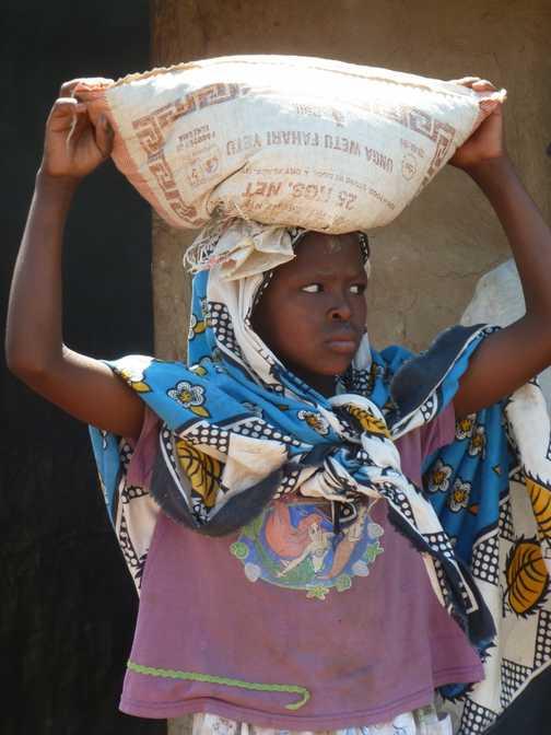 face of Tanzania