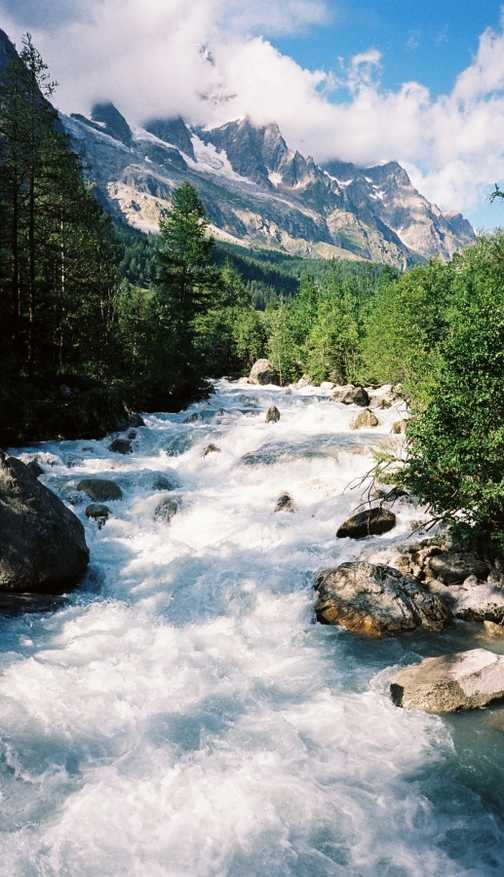 Val Ferret river
