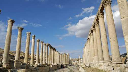 Columns of Jerash