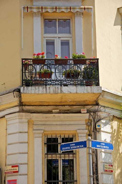 Sofia - street corner