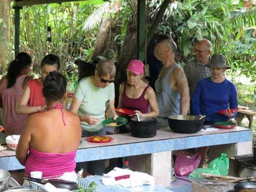 Lunch - Paradise Garden