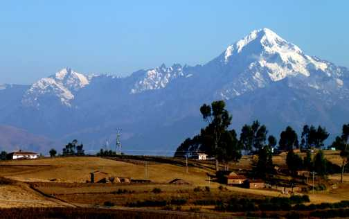 The magnificent views through the Sacred valley