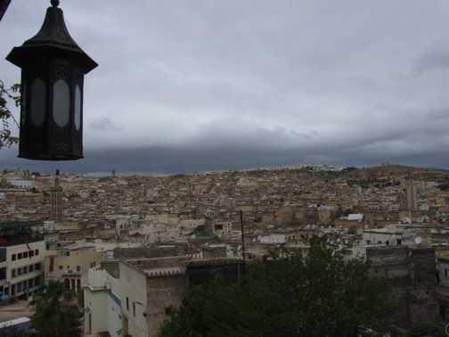 Olives stall - Fez
