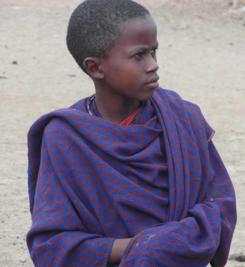Arusha .... Masai, eldest son