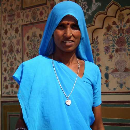 Lady in Jaipur