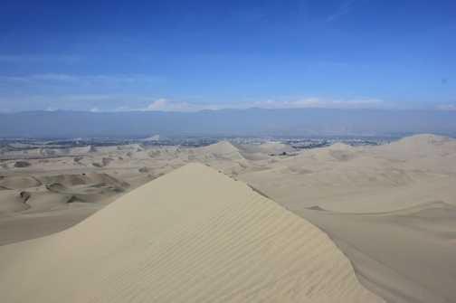 desert near Nazca