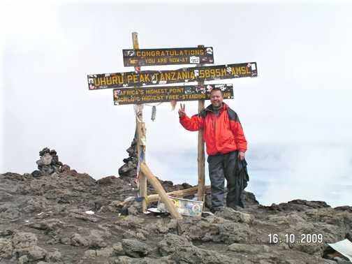 Me at Uhuru Peak