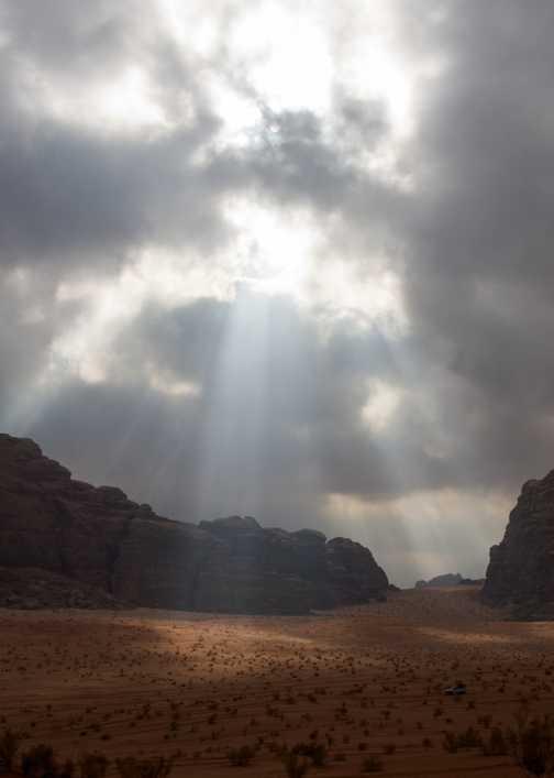In Wadi al Farasa, Petra