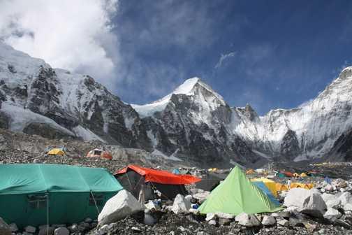 Everest Basecamp close up!