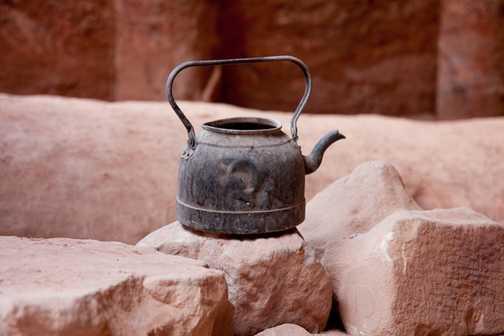Teapot in Petra