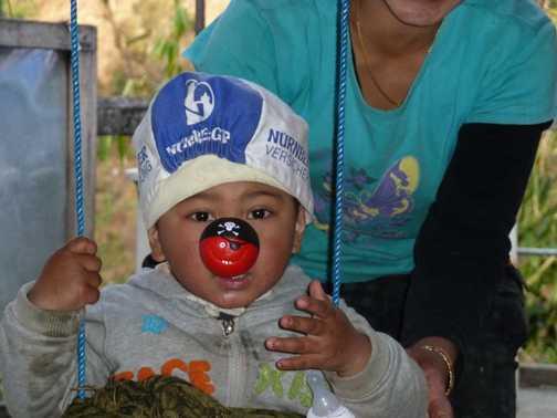 Red Nose Day in Tirkhedunga