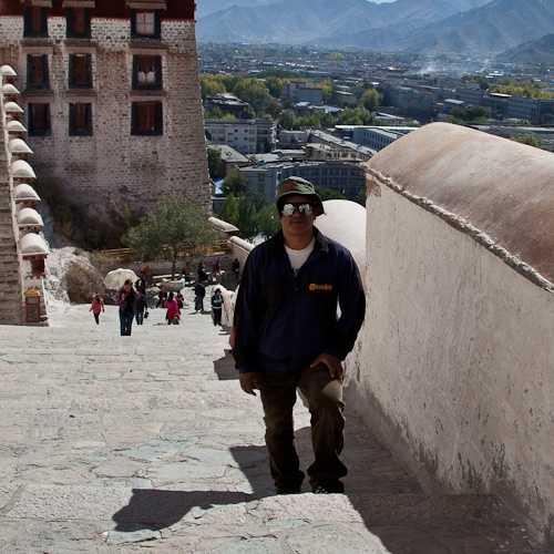 Top of Potala Palace, Lhasa