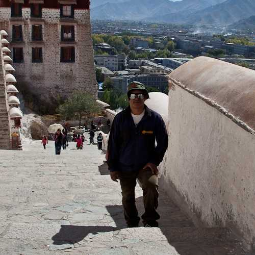 Top of Potala Palace, Lhasa