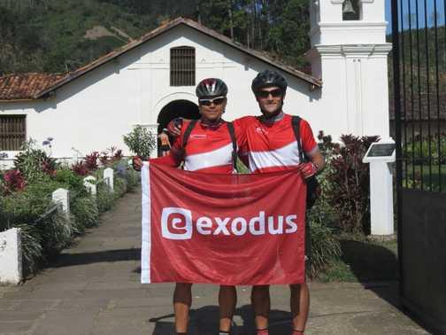 Team Exodus with flag