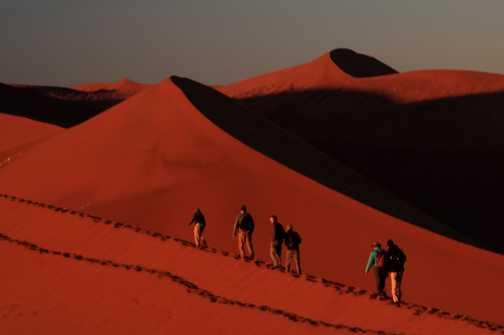 Climbing Dune 45