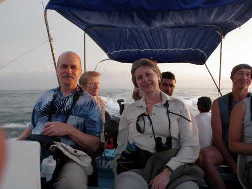 Boat ride to Corcovado