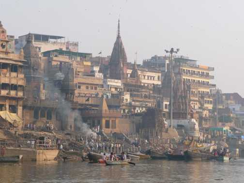 Motor boat for cruise down Ganges