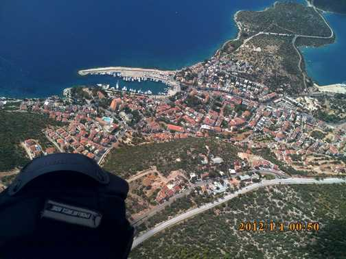 Kas from the paraglider